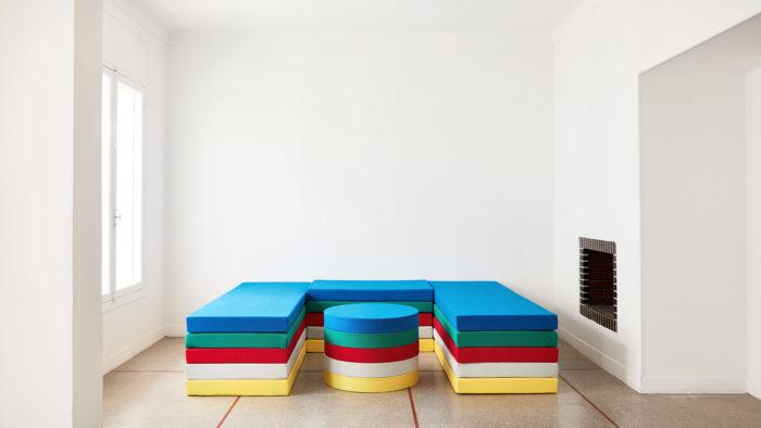 Myriam El Haïk, big legless, installation au Cube - independent art room Rabat, arts contemporains au Maroc
