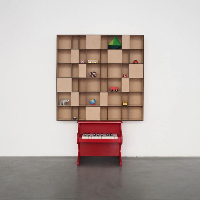 Myriam El haïk, installation Toy Toy avec piano pour enfant, arts contemporains au Maroc