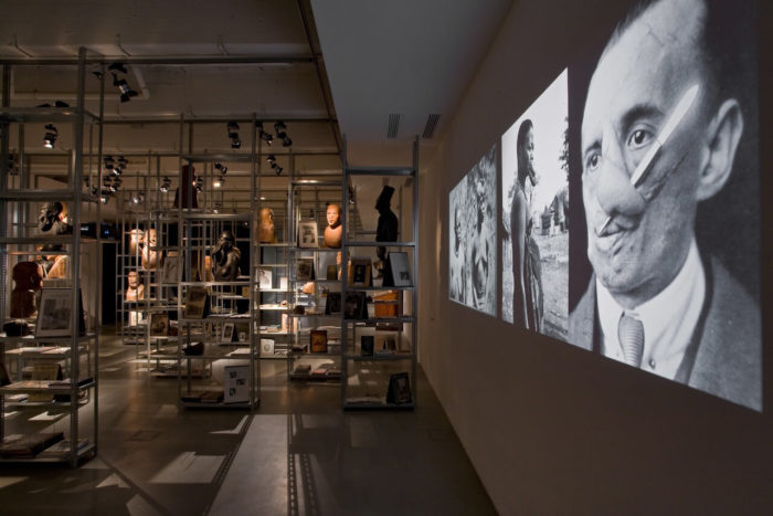 Kader Attia The Repair from Occident to extra-Occidental Cultures, 2012 Mixed media installation