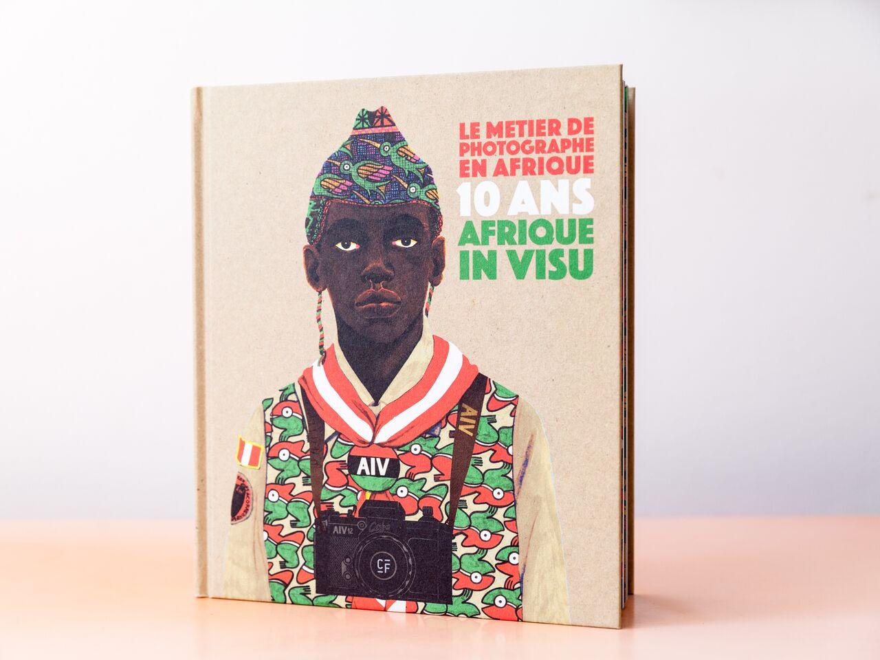"""Jeanne Mercier, livre """"Le métier de photographe en Afrique. 10 ans Afrique in Visu, éditions clémentine de la Feronnière"""