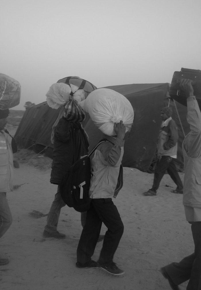 ismaël, photogrape tunisier, photographie de sa série noir et blanc