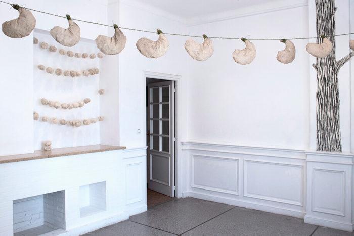 Eva Spierenburg Le conte des contes exposition au Cube - independent art room Rabat Maroc