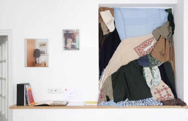 vue de l'exposition de Käthe Hager von Strobele au Cube - independent art room à Rabat
