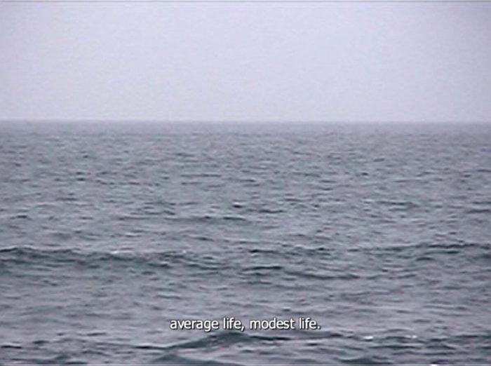 Katrin Ströbel, vidéo l'autre côté, mer et migration