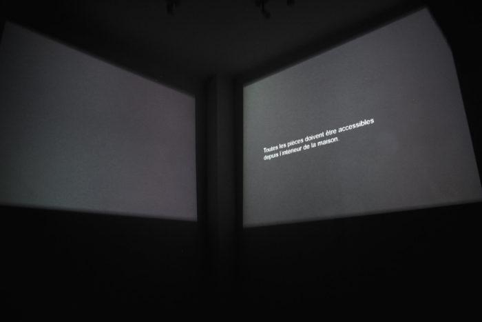 Leila Sadel, vue de son exposition choses particulière au Cube à Rabat