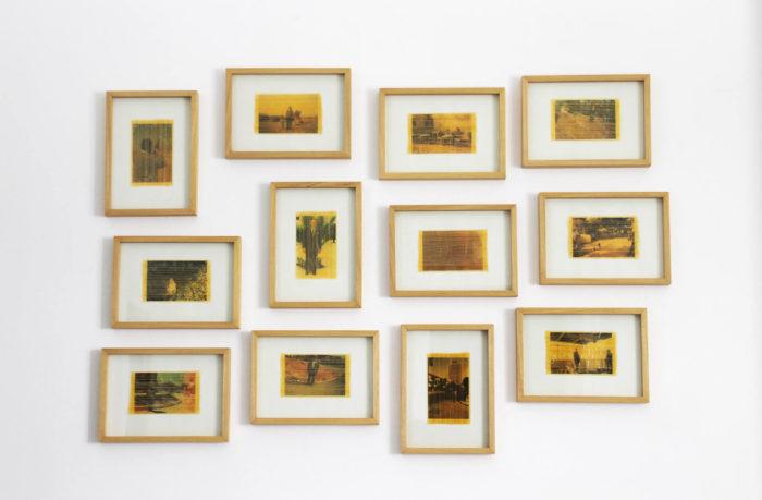 Hanane El Farissi photographies de famille, travail sur la mémoire réalisée dans le cadre de sa résidence artistique au Cube - independent art room à Rabat