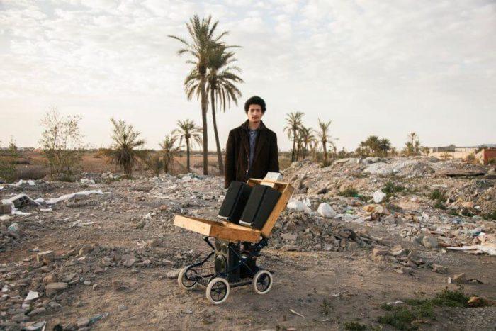 Younès Baba Ali Caroussa sonorre maroc art contemporain