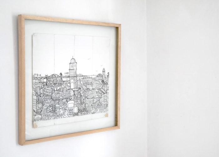 exposition Noss Noss au Cube avec Hassan Darsi, Zineb Benjelloun, Katharina Schmidt et Christoph Schäfer curatée par Katrin Ströbel