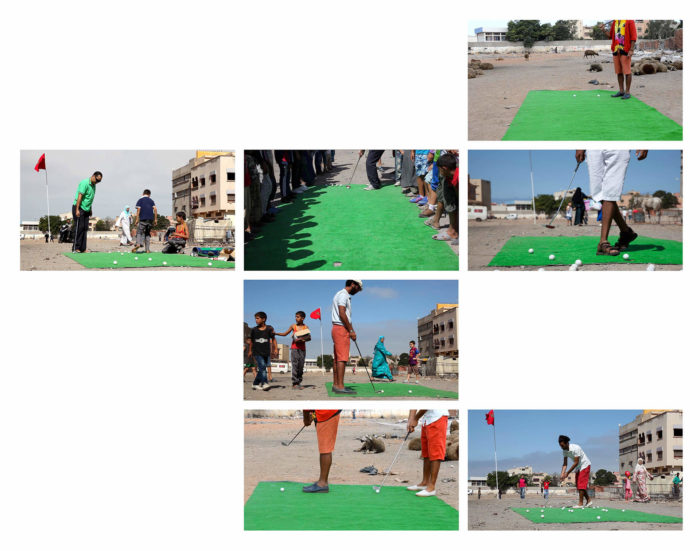 Mohammed Laouli Golf Project salé installation herbe des bouchers