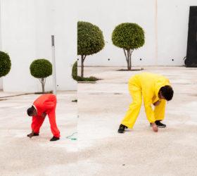côte à côte balbzioui rubbi moliner sabiu artist talk au Cube à Rabat Maroc