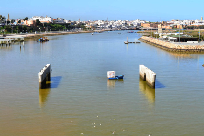 frontières fluides laouli ströbel photographie réalisée à salé sur le bouregreg au Maroc