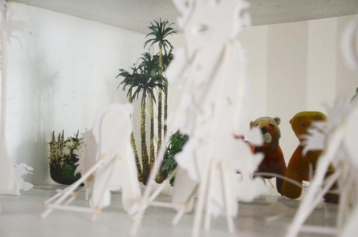 Maria Hanl exposition sur les centres commerciaux au Maroc
