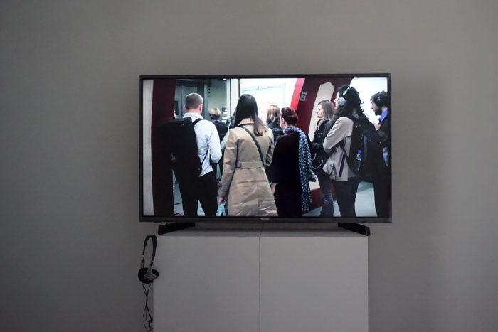 Anna Raimondo, Nous serions sérieuses de la manière la plus heureuse, vue de l'exposition au Cube - independent art room