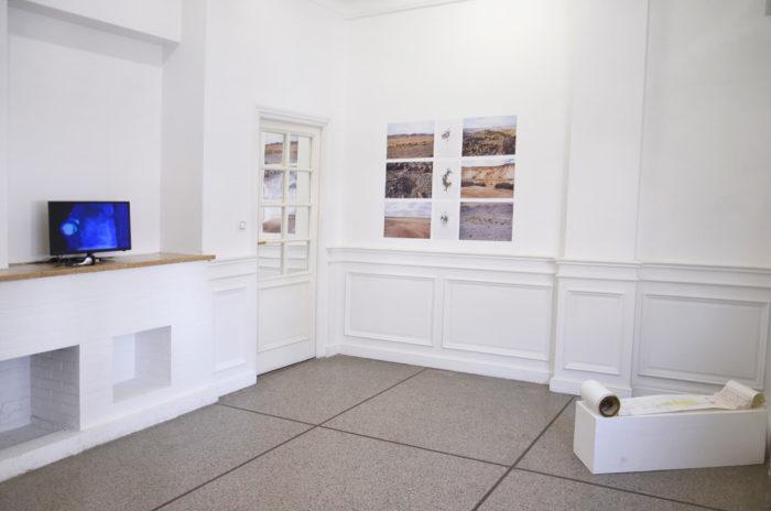 Attoussy, open studio au Cube - independent art room. Vidéo de Maria Seifart et dessin de Michal Glikson