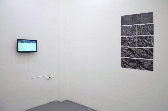 Attoussy, open studio au Cube - independent art room. Vidéo de Siegfried Fruhaus et photographies de Vooria Aria