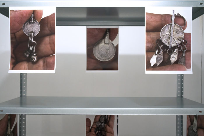 Bauhaus imaginista: learning from. Vue de l'exposition avec Kader Attia, Maud Houssais, Marion von Osten et Grand Wilson au Cube - independent art room, Rabat, Maroc