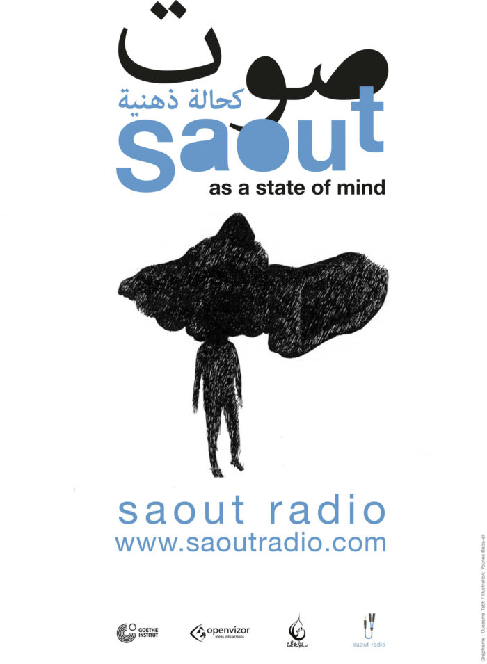 Saout Radio, affiche Saout as a state of mind