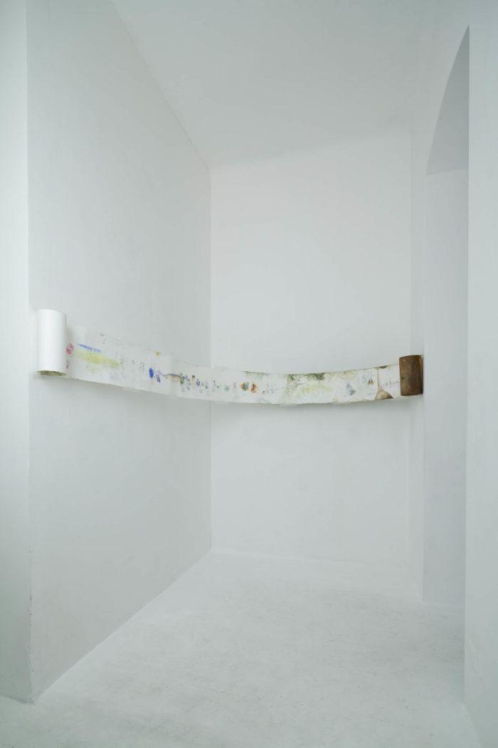 Attokoussy à Hinterland Galerie à Vienne, Autriche