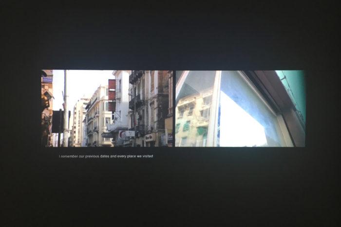 vue de l'exposition personne de l'artiste égyptienne Marianne Fahmy,