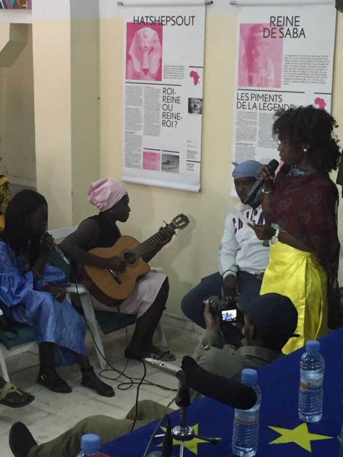 Espace Culturel Diadié Tabara Camara, Nouakchott : Des artistes rendent hommage aux femmes africaines-Espace Culturel- mai2018