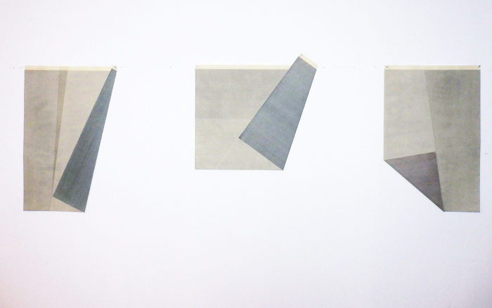 Fritz Ruprecheter, aquarell gewachst, gefaltet