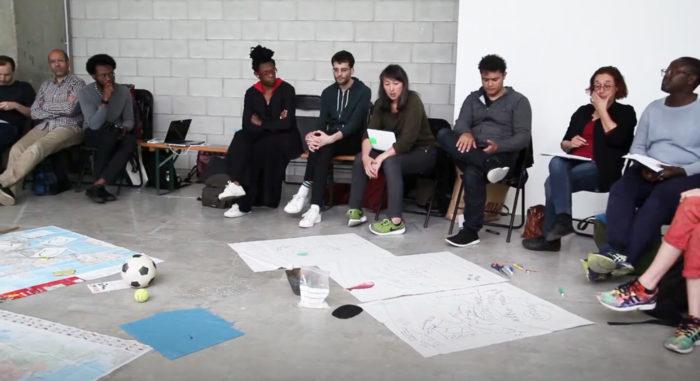 François Vergès, « L'Atelier » 2016, « Cartographie d'un espace postcolonial » Françoise Vergès, curator, à la galerie Bétonsalon, Paris