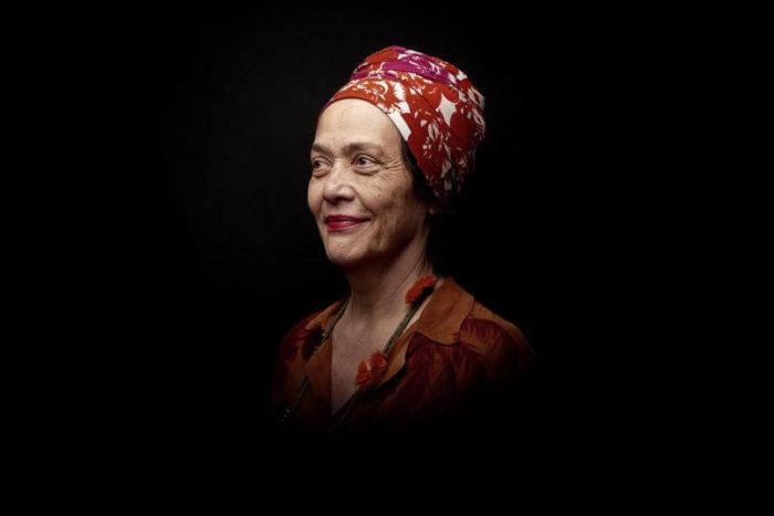Françoise Vergès pour son internetion au Cube - independent art room à Rabat sur décoloniser les arts et un féminisme décolonial