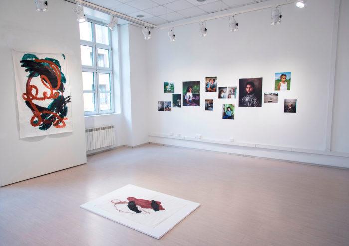 Clelia Coussonnet, Vue de l'exposition