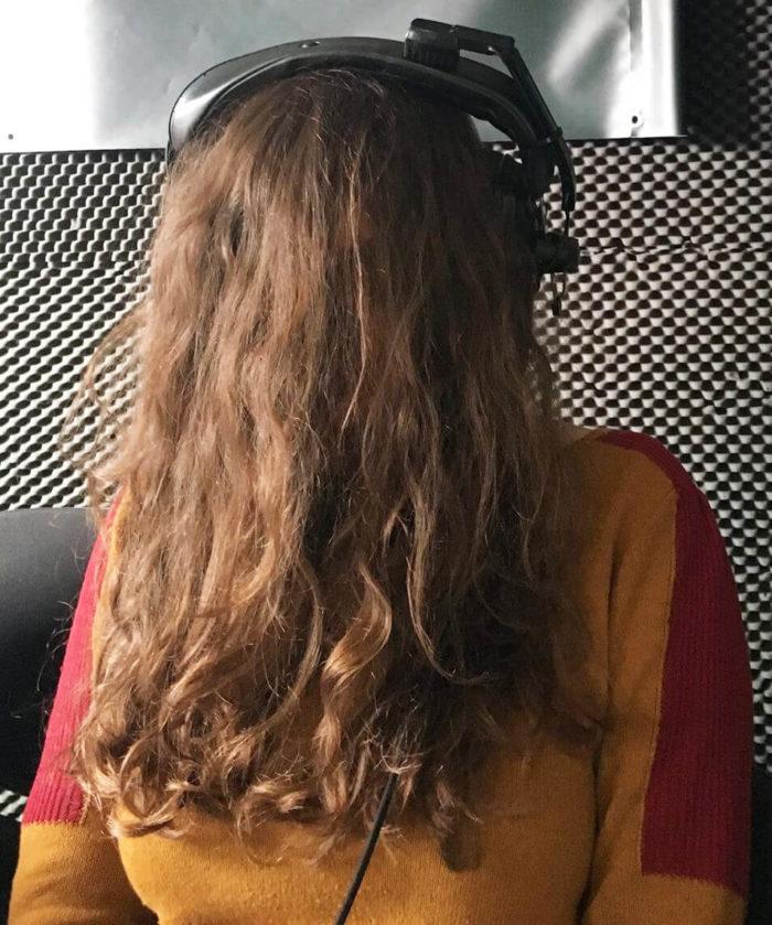 Chloé Despax in radiopanik studio