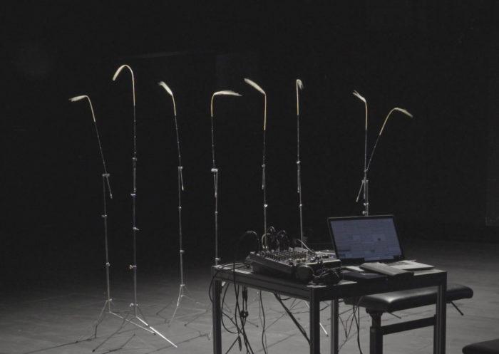 Gilles Aubry, Plantennas (performance, 2018)