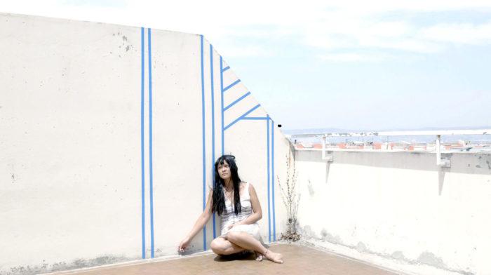 Camille Dumond, Ajardeck (Capture d'écran avec l'actrice Yitu Tchang), 15 minutes, 2017.