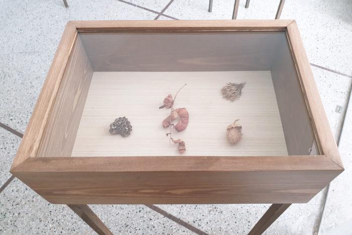 Vue d'exposition, Leave No Stone Unturned [Remuer la terre], curatée par Clelia Coussonnet au Cube-independent art room, 2019. Hanan Benammar,