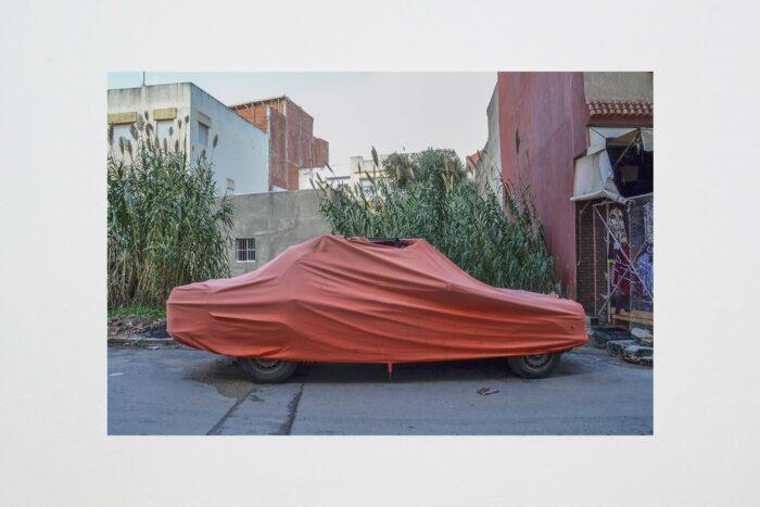 Marion Mounic, Tanja Balia, 2019 Photographie, 59,4 x 42 cm Vue de l'exposition, Mulhouse 019 – Biennale de la jeune création contemporaine